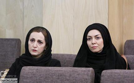 بازیگران زن در مراسم مرحوم انوشیروان ارجمند تصاویر