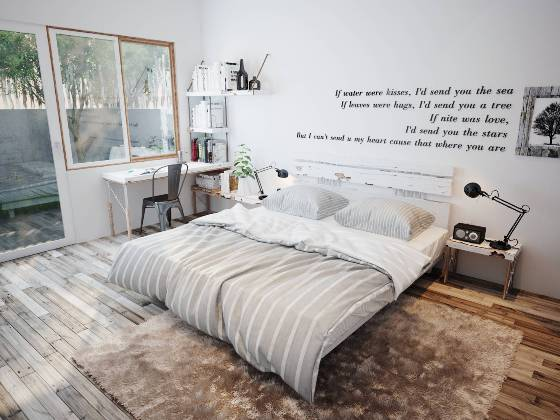 مدل دکوراسیون های آرام بخش برای اتاق خواب  تصاویر