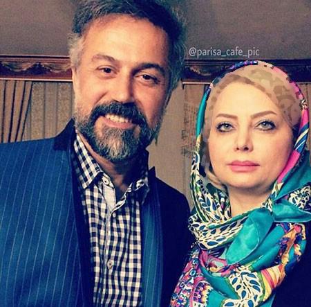 دانیال حکیمی بازیگر سینما و تلویزیون و همسرش تصاویر