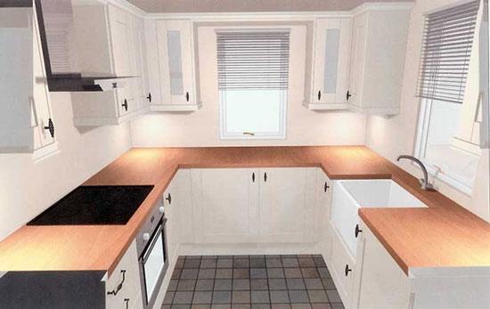 با این نکات مهم آشپزخانه کوچک خود را بزرگ کنید تصاویر