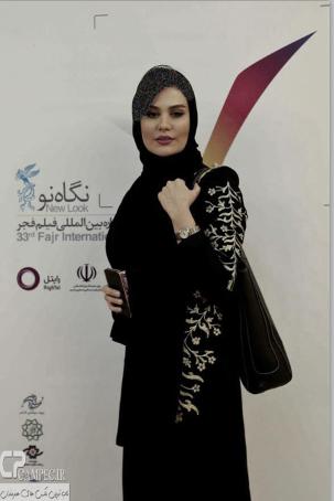 تیپ رز رضوی در افتتاحیه جشنواره فیلم فجر عکس