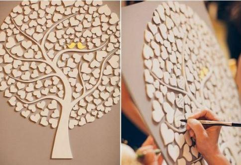 برد یادگاری جشن عروسی