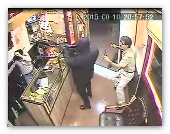 سرقت مسلحانه طلافروشی خانی آباد