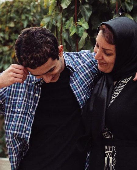علی شادمان بازیگر کیمیا در کنار مادرش تصاویر