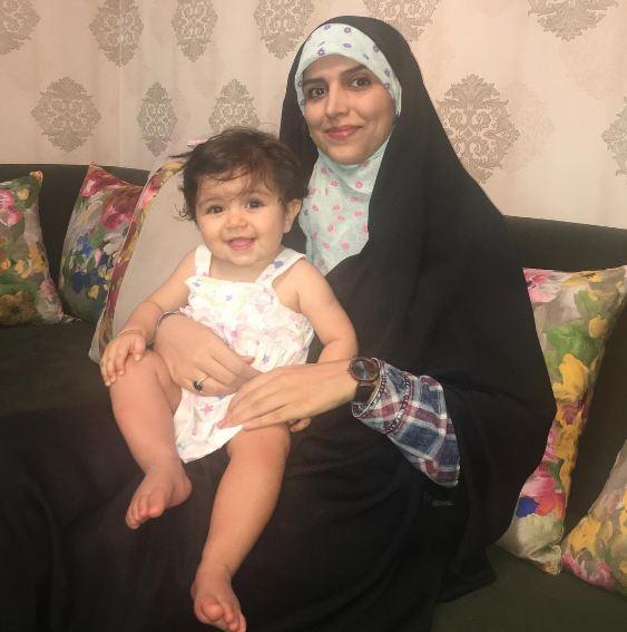 مژده لواسانی در کنار دختر دوستش! عکس