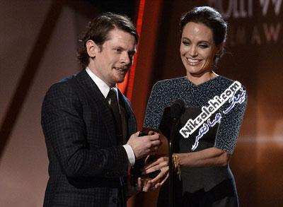 آنجلینا جولی در مراسم اهدای جوایز فیلم هالیوود