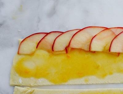 آموزش تصویری: رز با طعم دسر سیب!