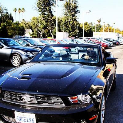 ماشین لوکس حسام نواب صفوی در لاس وگاس! عکس