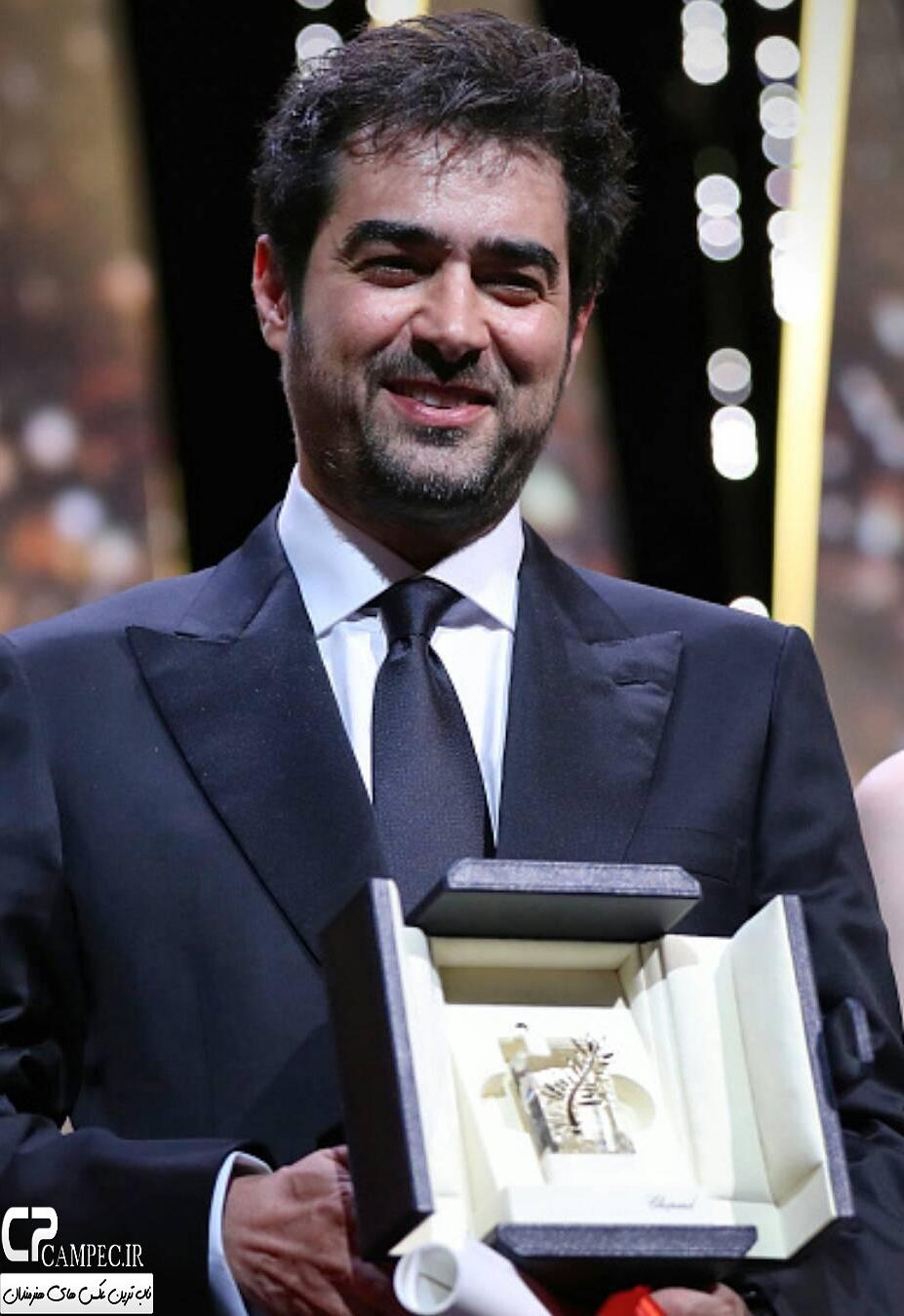 شهاب حسینی پس از دریافت نخل طلا چه گفت؟