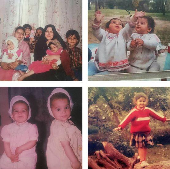عکسهایی قدیمی از نیلوفر امینی فر و خانواده اش! تصاویر