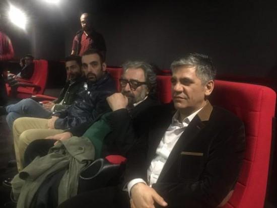 حضور مسعود کیمیایی کارگردان سینمای ایران در اکران