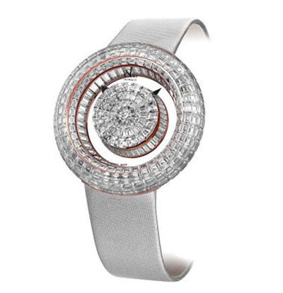 10مدل از زیباترین ساعت های الماس زنانه