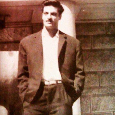 تبریک مهناز افشار به پدرش عکس