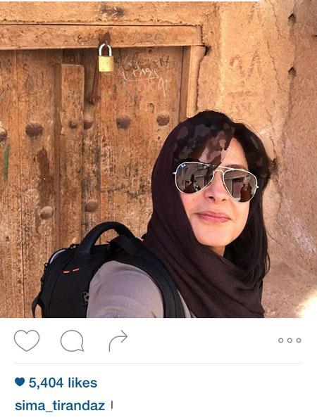 سیما تیرانداز بازیگر تئاتر و تلویزیون ایران تصاویر