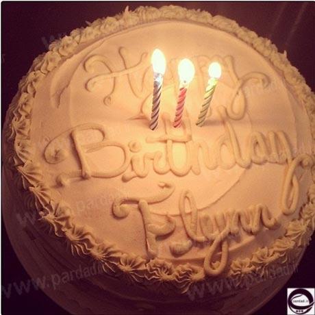 جشن تولد پسر زیباترین مدل دنیا