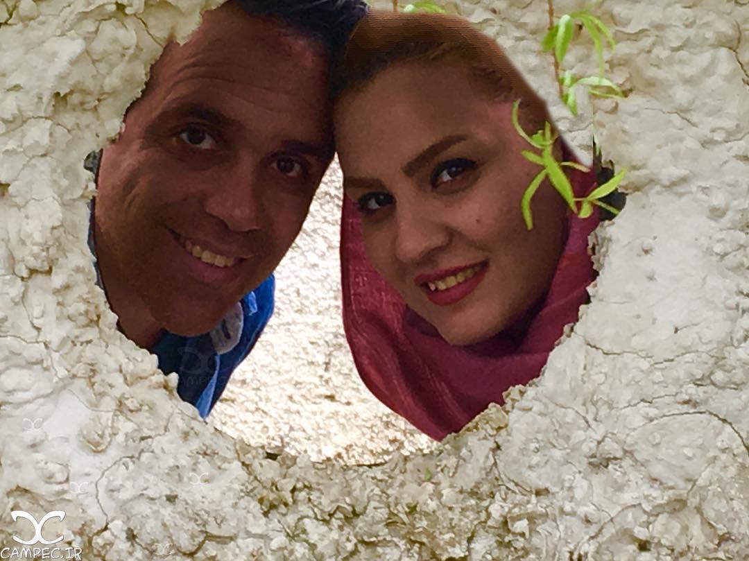 عکس های امیر کربلایی زاده کمدین خندوانه با همسرش پوران مرادی