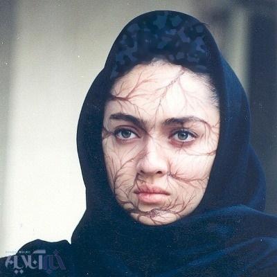 تصویر گریم 23 سال پیش نیکی کریمی برای فیلم مهرجویی عکس