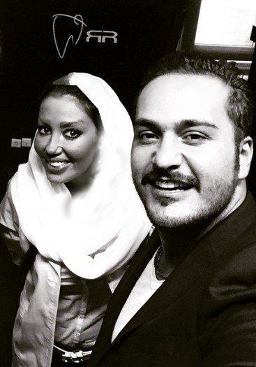 عکس های سلفی محسن افشانی و میلاد کی مرام با خانم دندانپزشک