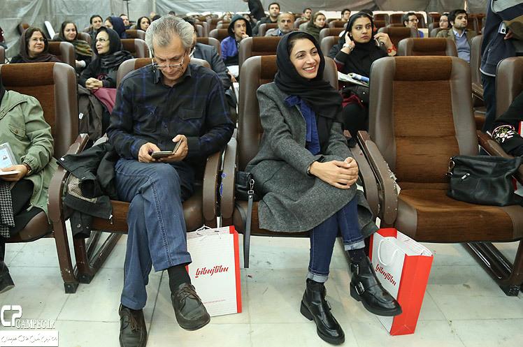 عکسهای نشست خبری سریال نفس گرم در نمایشگاه مطبوعات
