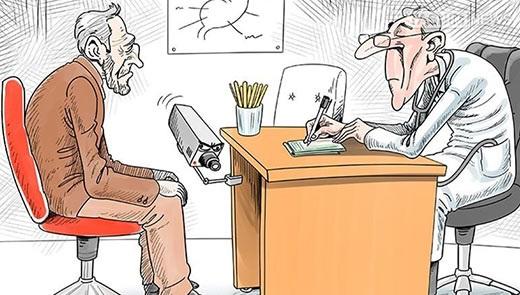 مجموعه کاریکاتورهای رشوه دادن و رشوه گرفتن