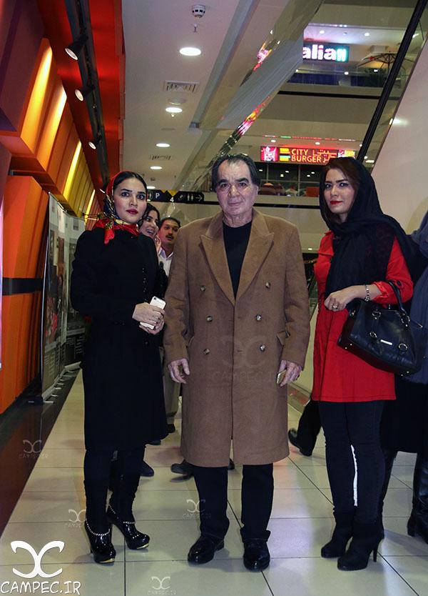 عکس های رضا صفایی پور بازیگر پیشکسوت سینما و تلویزیون با دخترش