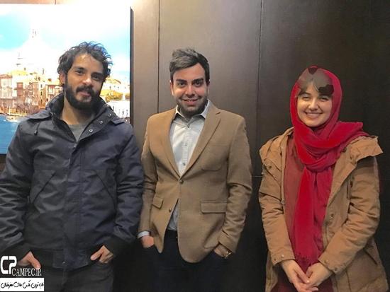 گلوریا هاردی و همسرش ساعد سهیلی در برنامه خوشا شیراز