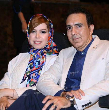 مزدک میرزایی مجری تلویزیون در کنار همسرش! تصاویر