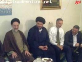 دیدار مقتدی صدر و محمد خاتمی( عکس)