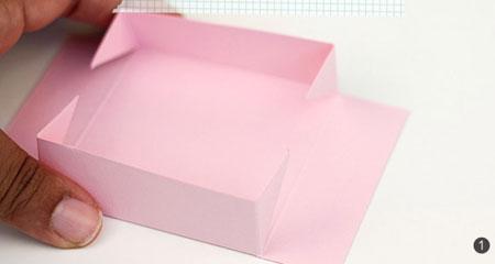 روش ساخت جعبههای گلبرگی تصاویر