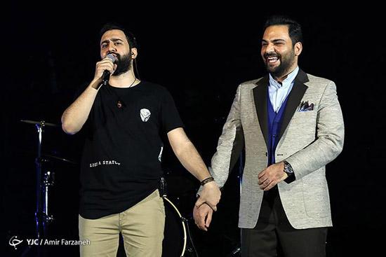 عکس های جدید پرستو صالحی و احسان علیخانی در کنسرت مهدی یراحی