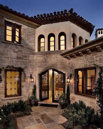 طراحی فضای ورودی خانه به سبکی منحصر بفرد و باشکوه تصاویر