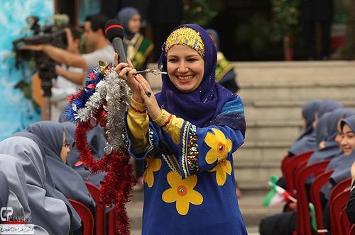عکس های جدید ملیکا زارعی در جشن عاطفه ها