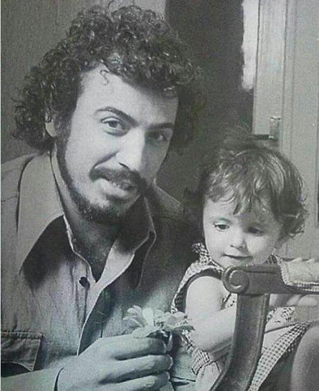 متن کوتاه لیلا حاتمی به یاد پدرش علی حاتمی عکس