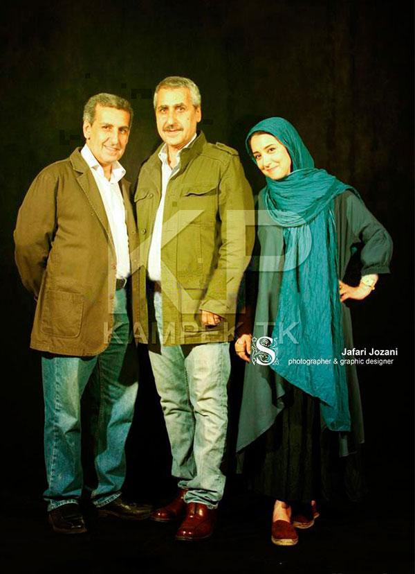 عکس های جدید از سحر جعفری جوزانی به همراه پدرش
