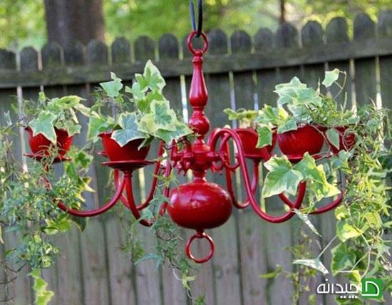 با تزیین باغچه، روح تان را باغبانی کنید