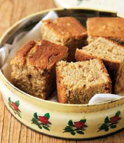 کیک صبحانه تابه ای سریع و خوشمزه! عکس
