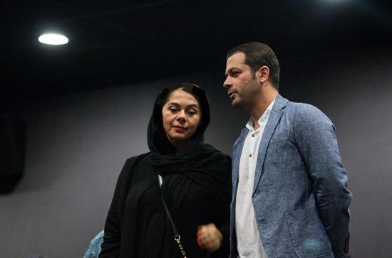 بازیگران و همسرانشان در اکران خصوصی فیلم خنده های آتوسا