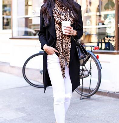 شلوار جین سفید را با چه لباسی ست کنیم؟؟  تصاویر