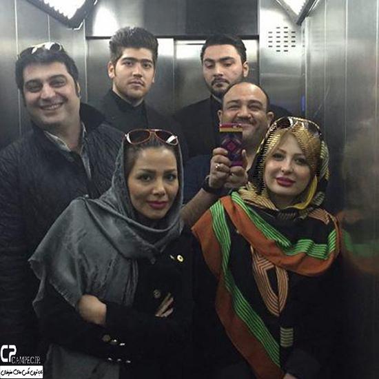 عکس های جدید بازیگران در سفر به مشهد