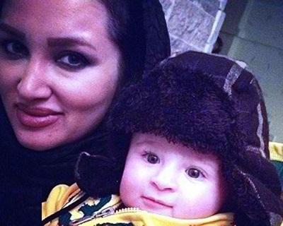 عکسهای زیبای روناک یونسی در کنار پسرش مهرسام