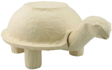 یک کاردستی لاک پشت زیبا با ظروف یکبار مصرف بسازید