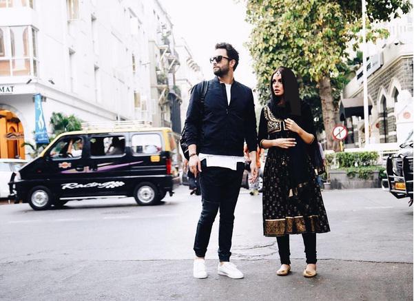 مهاجرت بنیامین بهادری و همسرش شایلی از ایران
