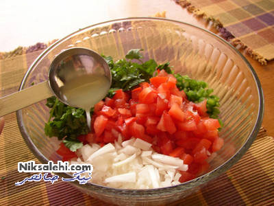 طرز تهیه یک غذای سریع آماده مکزیکی