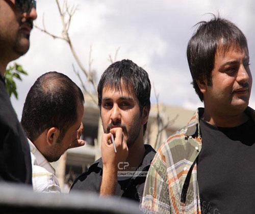 بازیگران مشهور ایرانی در حال گریم  تصاویر