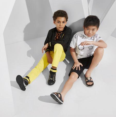 جدیدترین مدل های لباس کودکانه ورساچه  تصاویر
