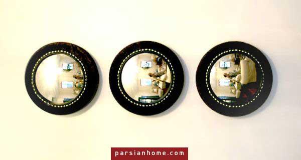 10 مدل آینه دست ساز برای خانه!! تصاویر