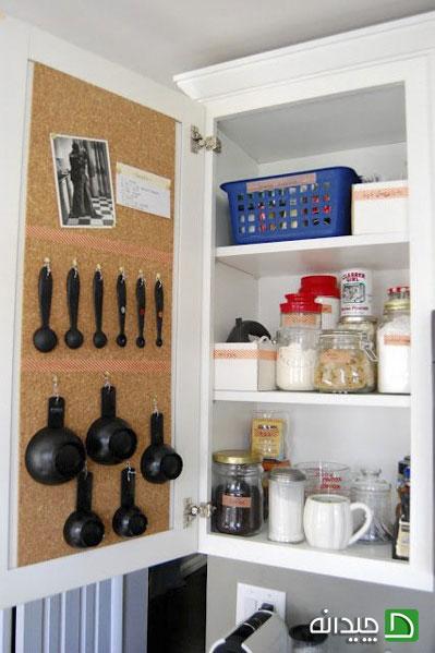 ۸ اکسسوری کابینت که در آشپزخانه کوچک معجزه می کنند!