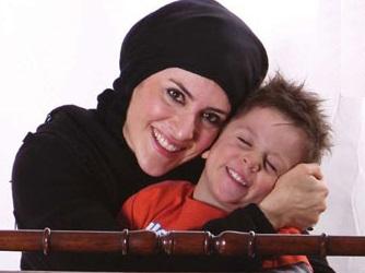 ویشکا آسایش:اگر اعصاب ندارید، بچهدار نشوید! عکس