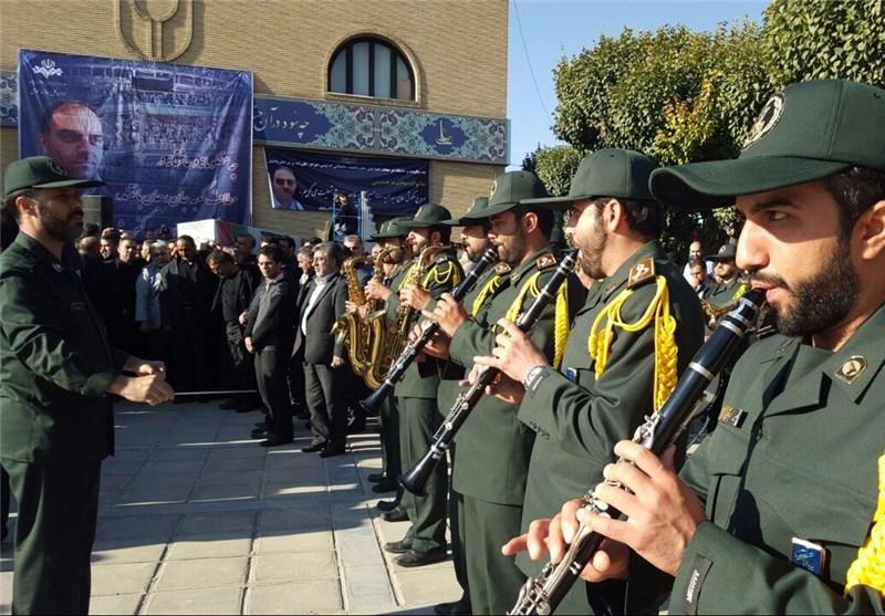 پیکر خبرنگار شبکه خبر تشییع شد  تصاویر