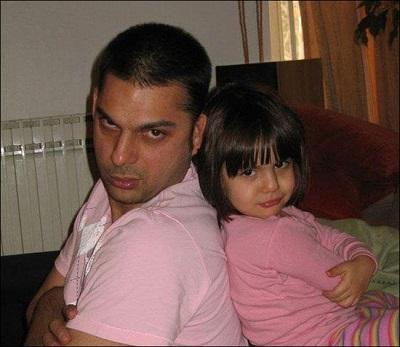 پیمان معادی از دخترش باران میگوید! عکس